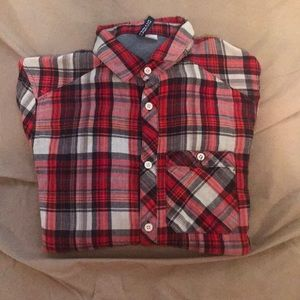 Red Button down shirt, Great condition